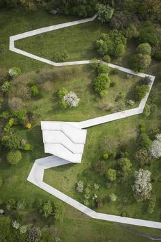 KWK Promes includes a house with a concrete road in Poland Something to bring … - Architecture Design Ideas Landscape Architecture Model, Landscape Model, Concrete Architecture, Landscape Plans, Urban Landscape, Architecture Design, Architecture Portfolio, Landscape Steps, Architecture Wallpaper