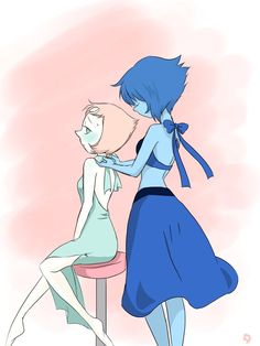 Steven Universe, Creatures, Pearls, Lapis Lazuli, Anime, Fictional Characters, Beautiful, Sexy Cartoons, Beast Boy