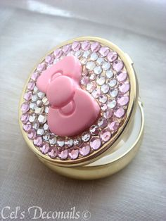 Hello Kitty Bow Pill Case