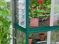 Set a mini greenhouse against a sunny wall to protect crops in a small garden, balcony or terrace. They can vary in size and price to fit the space and pocketbook.