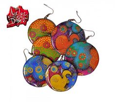 LucLac / Colorful resin jewelery