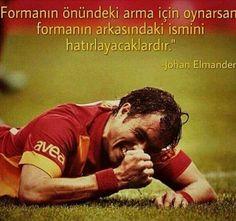 Özledik Adam! :( #johan #elmander #Galatasaray