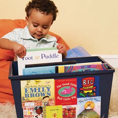 Library in a Box..................because we all know i have way to many books