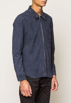 Our Legacy Suede Zip Shirt | Ted & Teresa