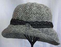 Womans Crochet Hat    Handmade Sun Hat   Vintage by SophiesHats, $30.00