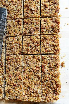 Homemade Granola Bars. Crunchy, so flavorful...and addictive.