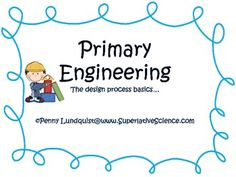 My primary engineering basics packet consists of Engineering Design Process signs for your room, a printable engineering flowchart, a homework eng...