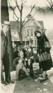 Family on walk. #storiesshared #family #pollyanncastle