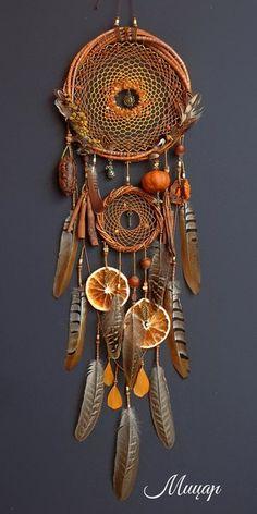 Autumn dream catcher door hanging