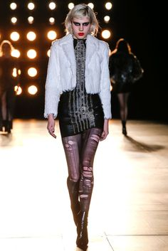 Saint Laurent Otoño-invierno 2015 Paris   Vogue
