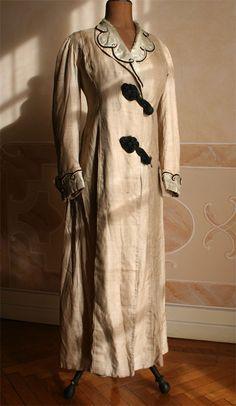 Linen coat, ca. 1911