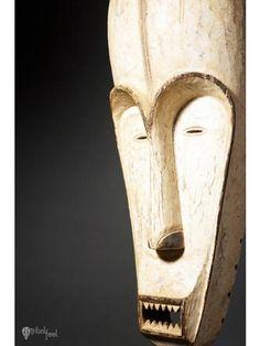 Ngil Society Mask, Fang, Gabon, Africa