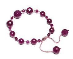 Lola Rose Jewellery - Black Cherry Quartz Cammi Gemstone Bead Bracelet Rose Jewelry, Jewelry Shop, Lola Rose, Unique Watches, Jewellery Designs, Cool Diy, Gemstone Beads, Cherry, Quartz
