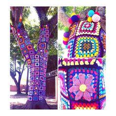 yarn bombing - Brasil - Curitiba - Tarumã