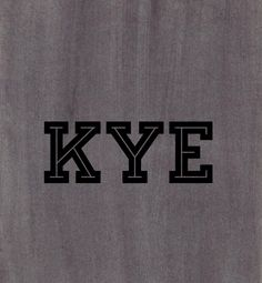 Kye, variation of Kai (Hawaiian for Ocean) or Kyle Baby names, baby boy, unique names