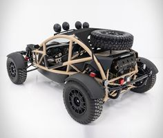 This awesome Mad-Max-style dune buggy is up for grabs! The modern buggy is designed for the rough and tough of the wild but is just as home in the city and just as much fun. The tube-framed Nomad Tactical Buggy is powered by a 230 horsepower Honda K- Triumph Motorcycles, Custom Motorcycles, Dirt Bike Girl, Girl Motorcycle, Motorcycle Quotes, Ariel Nomad, Scooters Vespa, Vespa Vintage, Ducati