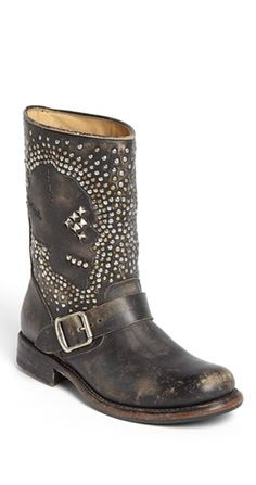 Studded buckle boots? Yes, please!