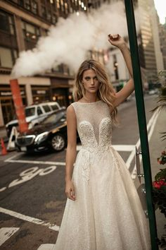 World Exclusive: Berta Wedding Dress Collection 2018 Luxury Wedding Dress, Designer Wedding Dresses, Wedding Gowns, Wedding Veil, Colored Wedding Dresses, Bridal Dresses, Berta Bridal, Dress Collection, Marie