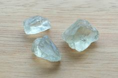 High Quality Green Amethyst Facet Rough 24.80 CT. 3 PCs. Africa Unheated Natural Gemstone #JV117 by JEWVARY on Etsy