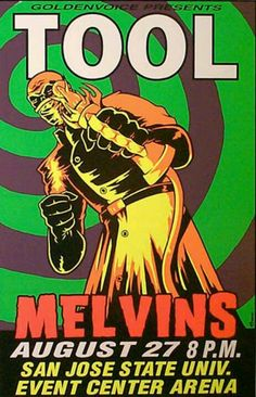 Tool Melvins Poster