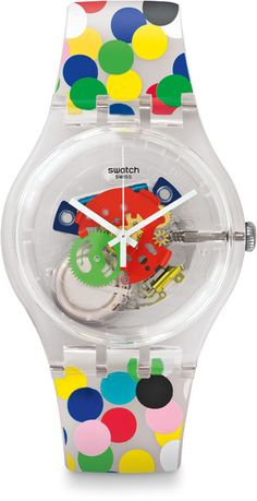 SWATCH NEW GENT SPOT THE DOT by Alessandro Mendini (SUOZ213) NEUWARE 2016