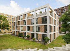 van Dongen–Koschuch Architects and Planners | Stedenbouwkundig plan Het Funen, Amsterdam