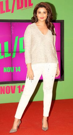 Parineeti Chopra at the launch of a song from 'Kill Dil'. #Bollywood #Fashion #Style #Beauty