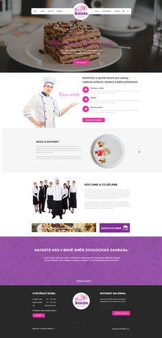 Sladký web s prodejem cukrovinek pro majitele Smile. Made with ♥ in Brno by Steiner Media