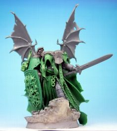 Fallen Dark Angels Chapter MAs by Semimini Warhammer Figures, Warhammer Art, Warhammer Models, Warhammer 40k Miniatures, Warhammer 40000, Warhammer Dark Angels, Dark Angels 40k, Space Wolves, Fantasy Miniatures
