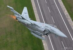 Italian Air Force Eurofighter on NATO Baltic Air Policing duties.