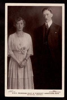 1921 Princess Mary Viscount Lascelles