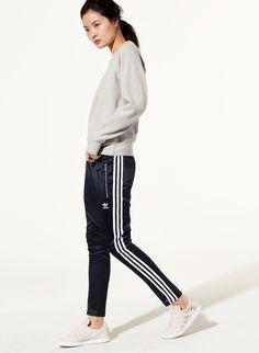 Adidas SATIN CIGARETTE PANT | Aritzia