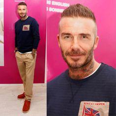 David attend the NEWGEN LFWM June 2018 Breakfast #LFW #davidbeckham #london # #kentandcurwen