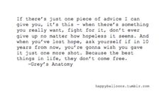 Grey's Anatomy Quotes | grey's