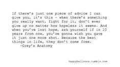 Grey's Anatomy Quotes | grey's