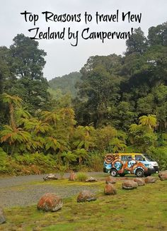 Top reasons to see the beauty of New Zealand via campervan travel! Click on post to see amazing pictures and why this is such an unique experience!