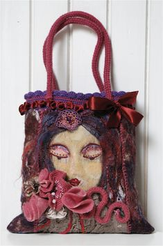 Gorgeous felted purse bag ♥