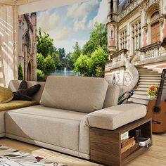 Papier Paint Vinyle jardin du palais #papierpeint #vinyle #mur #décoration #deco #WebStickersMuraux
