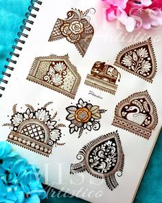 Basic Mehndi Designs, Henna Tattoo Designs Simple, Latest Bridal Mehndi Designs, Mehndi Designs 2018, Henna Art Designs, Mehndi Designs For Beginners, Mehndi Designs For Girls, Mehndi Design Photos, Wedding Mehndi Designs