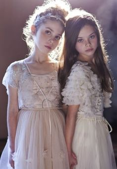 wedding perfection for any flower girl-tutu du monde does it again! Dresses available for rent at The Borrowed Boutique Fashion Kids, Tutus For Girls, Cute Girls, Kids Boutique, Foto Art, Bridesmaid Dresses, Wedding Dresses, Bridesmaids, Little Girl Dresses