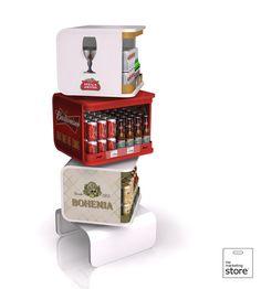 AMBEV - Premium beers - tri-branded Free standing unit