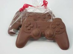 Electronic game player gift of Solid Milk Chocolate Candy Game Controller for Adults & Children: Amazon.com: Grocery & Gourmet Food