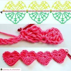 Watch This Video Beauteous Finished Make Crochet Look Like Knitting (the Waistcoat Stitch) Ideas. Amazing Make Crochet Look Like Knitting (the Waistcoat Stitch) Ideas. Crochet Borders, Crochet Flower Patterns, Crochet Diagram, Crochet Stitches Patterns, Crochet Chart, Crochet Motif, Crochet Flowers, Crochet Lace, Crochet Ideas