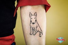 Afbeeldingsresultaat voor bull terrier tattoos