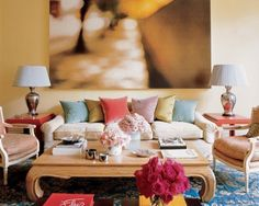 decorating with pillows on sofa | If you are using solid colored throw pillows make sure they ...