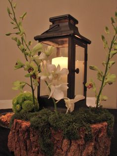 enchanted forest wedding ideas | Enchanted Forest Centerpiece | Fairy wedding ideas