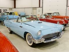 1957 Thunderbird. My first car was a Thunderbird pedal car, just like this. Fond memories.