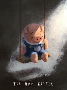Logan Pearsall really sheds light on our Pig! Beautiful Fan Art!