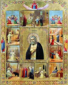 Prayer to the Holy Father Seraphim of Sarov. Religion, Avatar The Last Airbender Art, Russian Icons, Jesus Art, Russian Orthodox, Holy Family, Religious Art, Christian Faith, Ikon