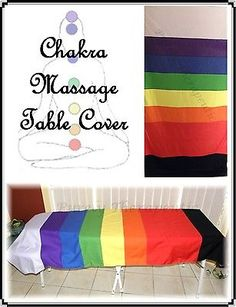 CHAKRA Massage/Reiki Table Cover~Multi-Use~MADE IN AUST
